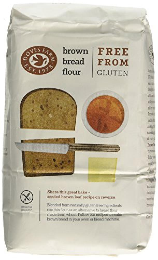 Doves Farm Gluten and Wheat Free- Brown Bread Flour 1kg