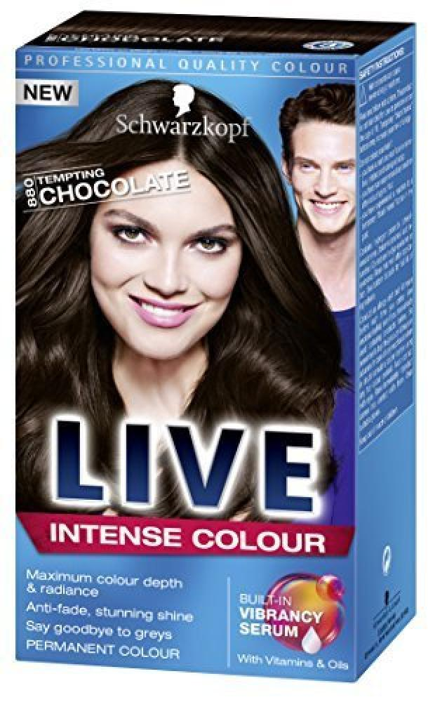 Schwarzkopf LIVE Color XXL Unlimited Gloss 880 Tempting Chocolate Kit