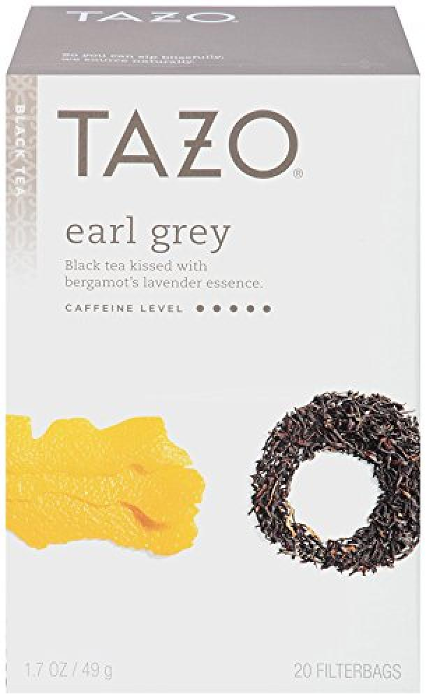 Tazo Teas Earl Grey Black Tea 20 Filterbags 1.7 oz (49 g)