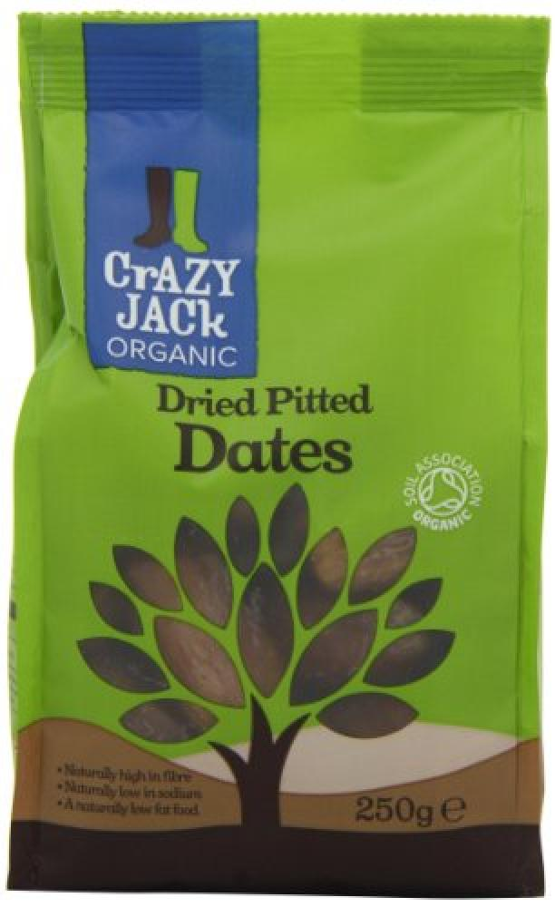 Crazy Jack Organic Pitted Dates 250 g