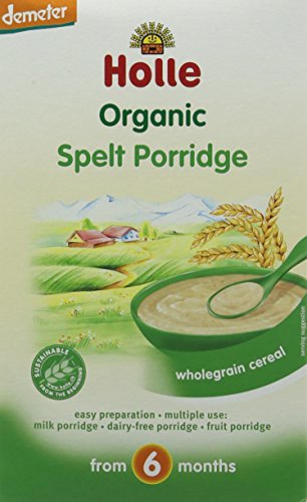 Holle Organic Spelt Porridge Wholegrain Cereal from 6 Months 250g