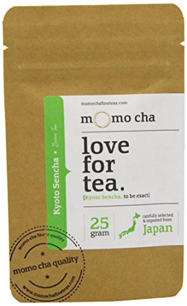 Momo Cha Fine Teas Mocha Cha Love For Tea Kyoto Sencha 25g