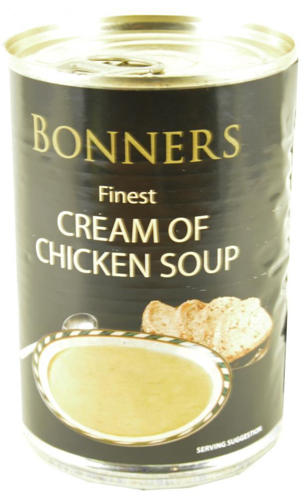 Bonners Finest Cream Of Chicken Soup 400g