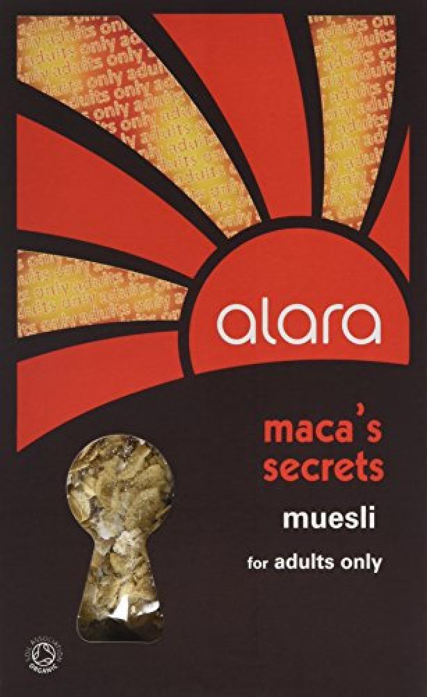 Alara Macas Organic Secrets Muesli for Adults Only 400 g