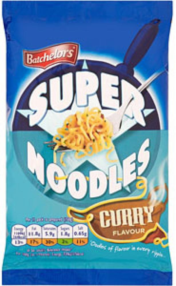 Batchelors  Batchelors Super Noodles Curry Flavour 100g