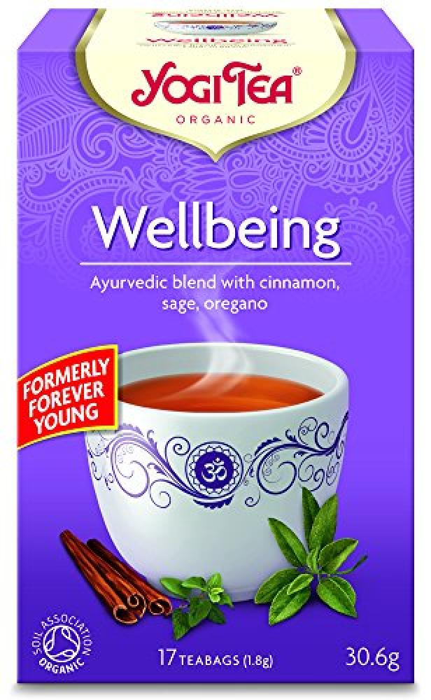 Yogi Tea Wellbeing 17 Teabags 30.6g