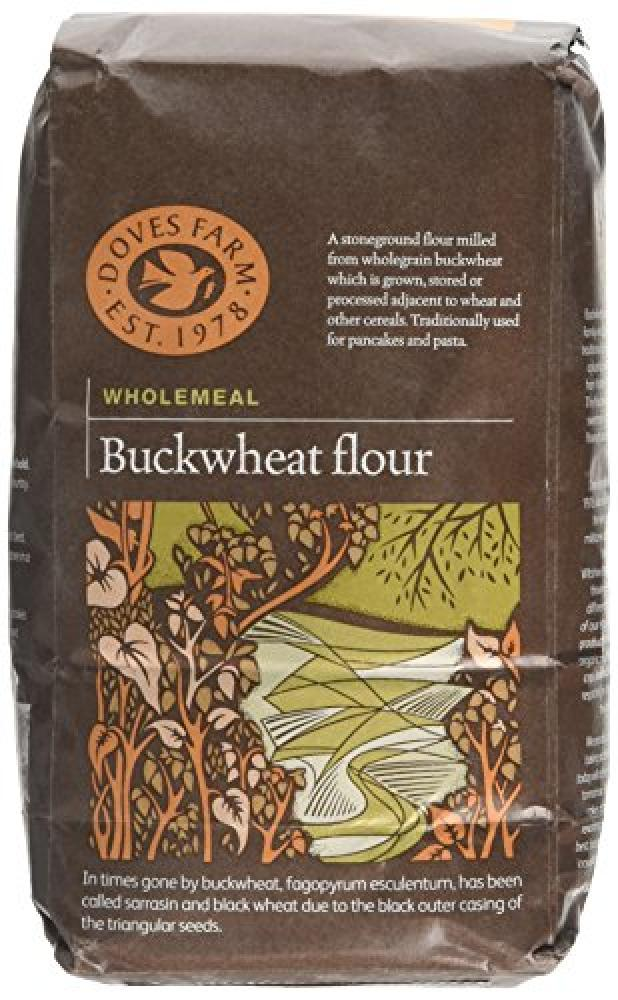 Doves Farm Wholegrain Buckwheat Flour 1 kg