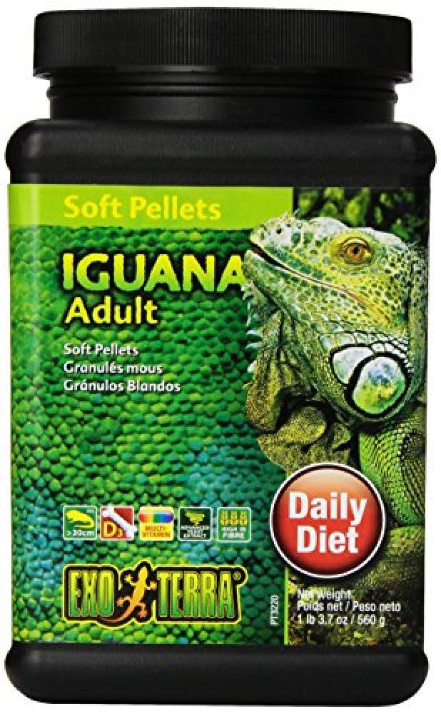 Exo Terra Soft Pellets Adult Iguana 560g