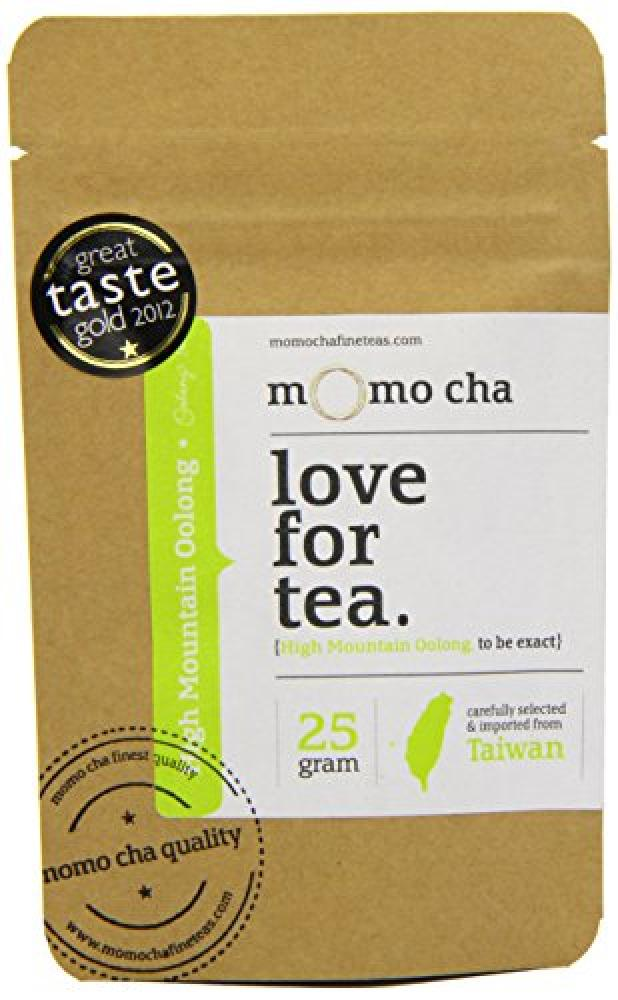 Momo Cha Fine Teas High Mountain Oolong - Loose Leaf Taiwan Tea 25gr