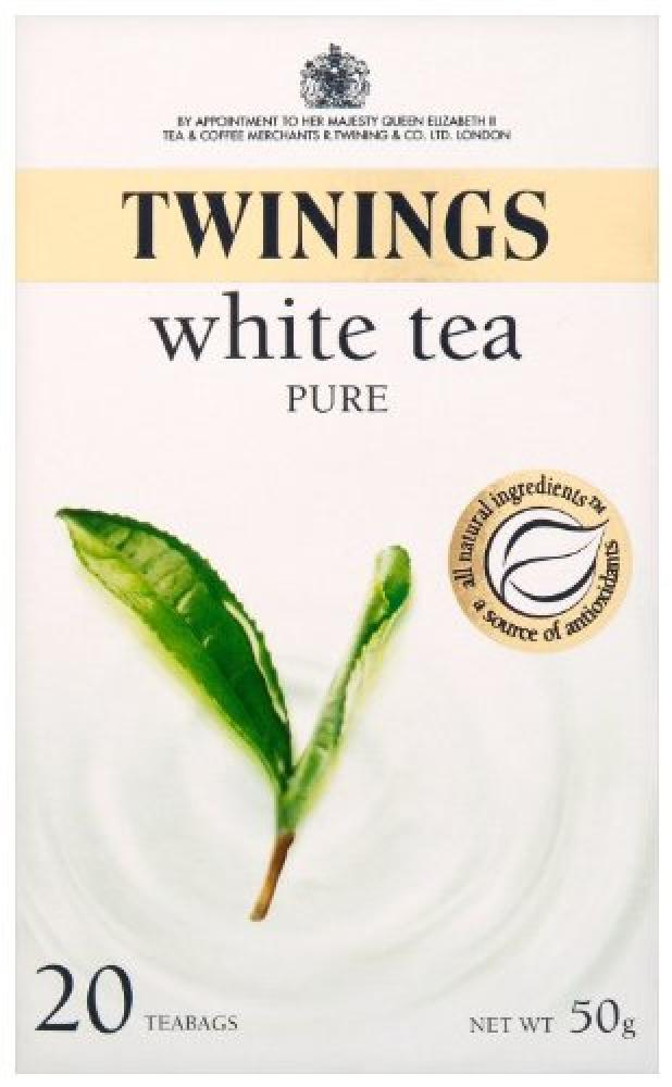 Twinings Pure White Tea 20 Teabags