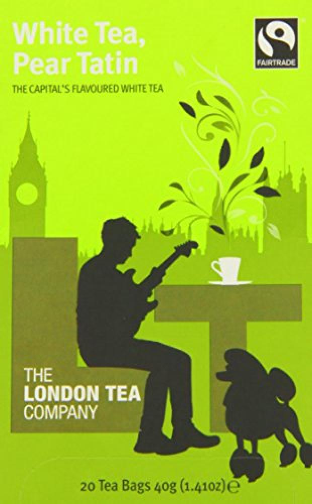 The London Tea Company White Tea Pear Tatin 20 Teabags 40g