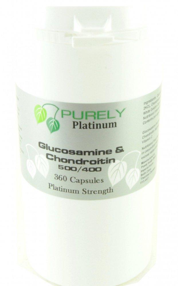 Purely Platinum Glucosamine and Chondroitin 360 Capsules