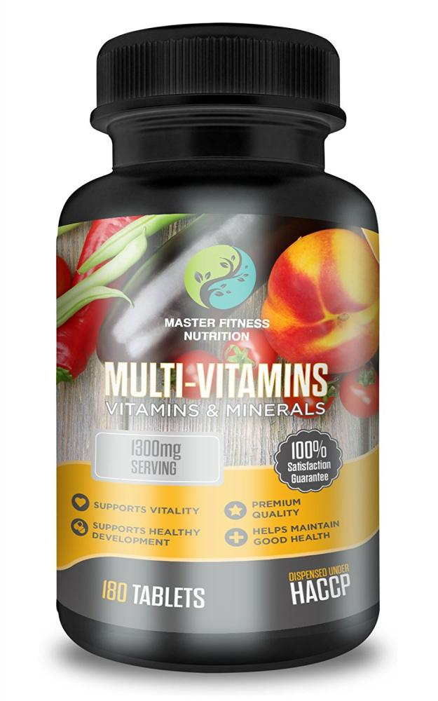 Master fitness nutrition Multivitamin And Mineral Supplements 1300mg