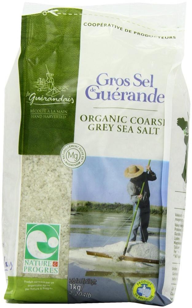 Le Guerandais Coarse Sea Salt In Bag 1 Kg