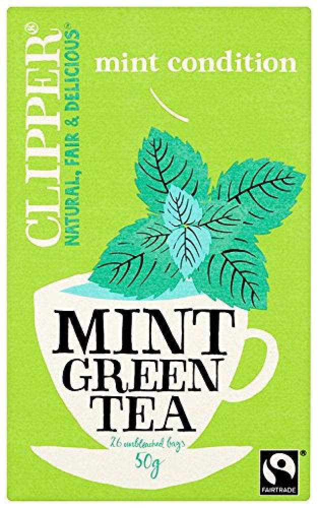 Clipper Mint Green Tea 26 Teabags