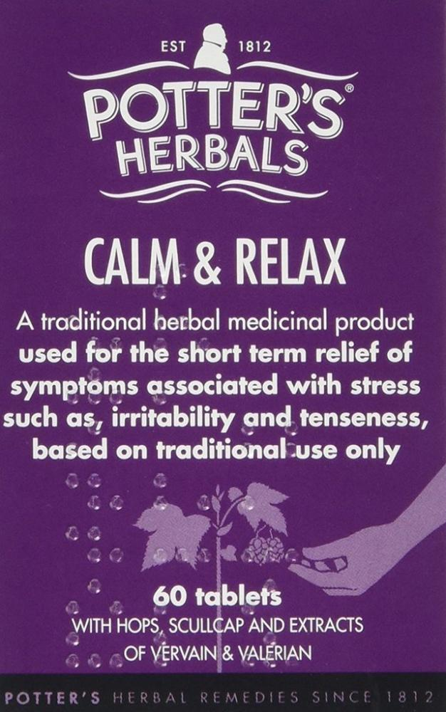 Potters Calm and Relax pack of 60