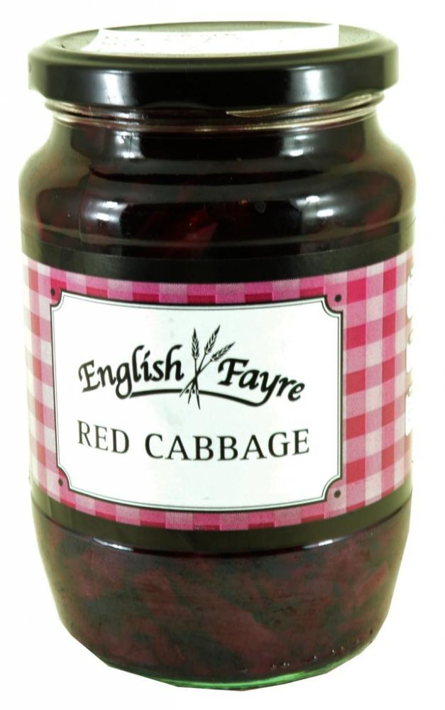 FURTHER REDUCTION  English Fayre Red Cabbage 710g