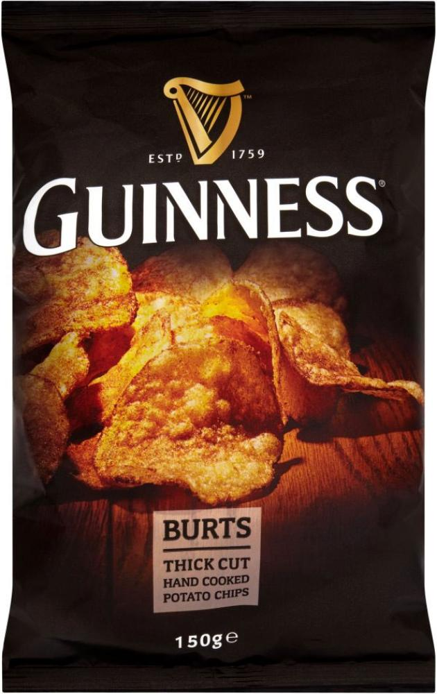 Guinness Burts Thick Cut Potato Chips 150g
