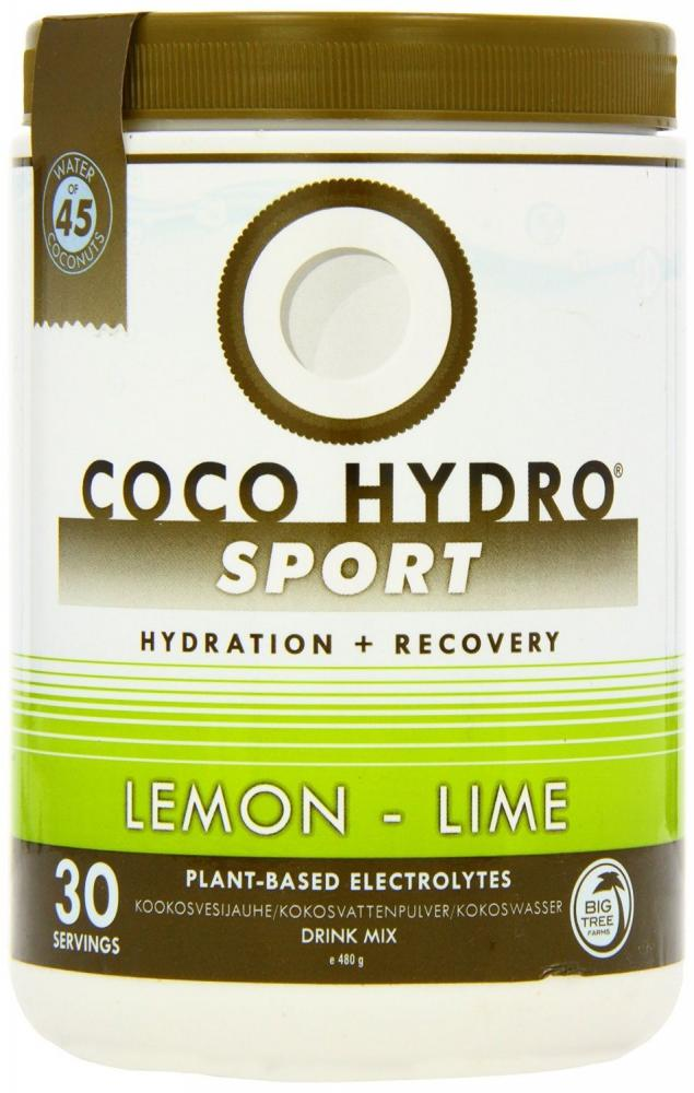 Coco Hydro Lemon and Lime Hydration and Recovery 480g 30 servings