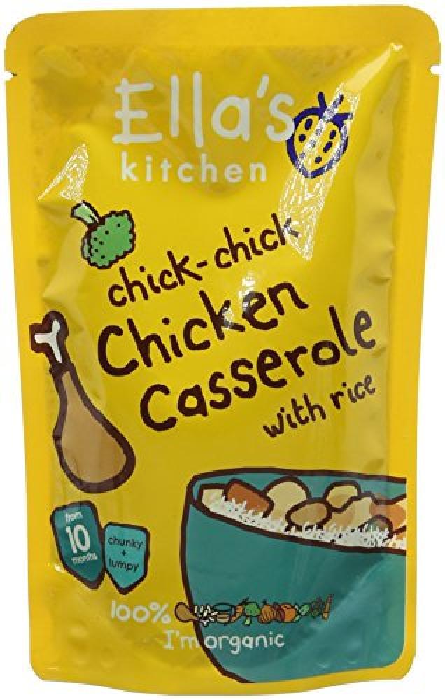 Ellas Kitchen Chick-chick Chicken Casserole with Rice 190g