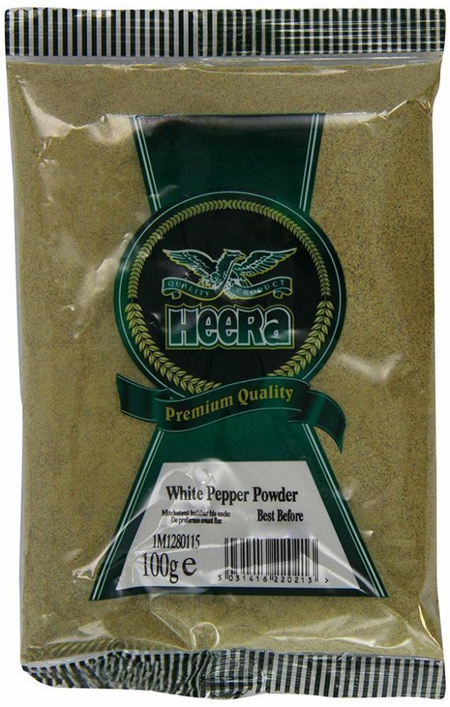 Heera White Pepper Whole 100g
