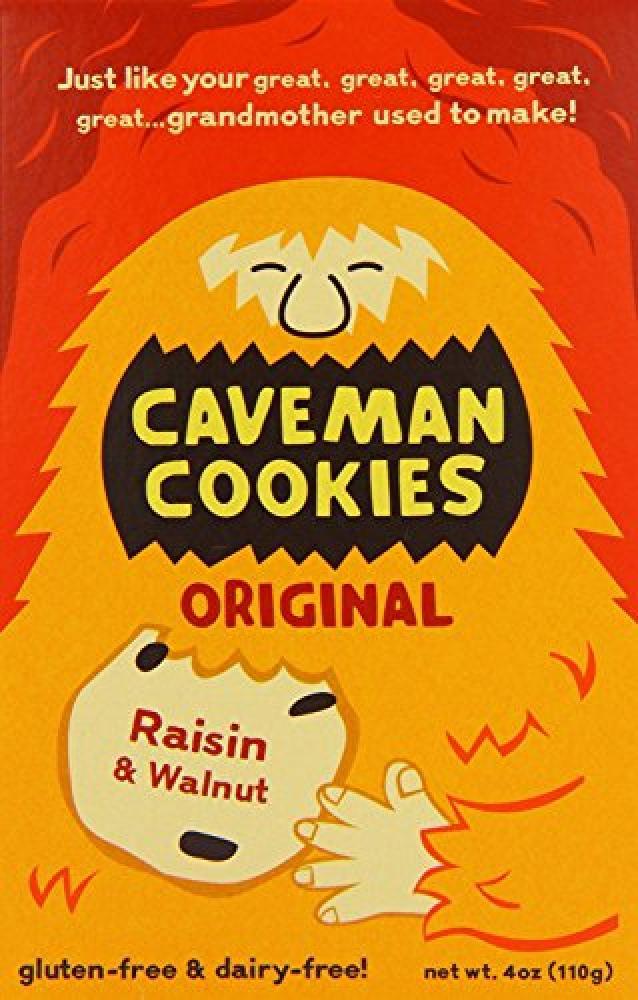 Caveman Cookies Original Cookies 110 g