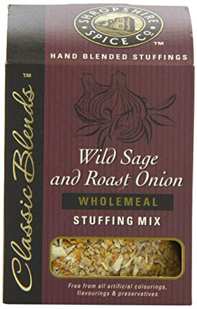Shropshire Spice Co Wild Sage and Roast Onion Wholemeal Stuffing Mix 150g