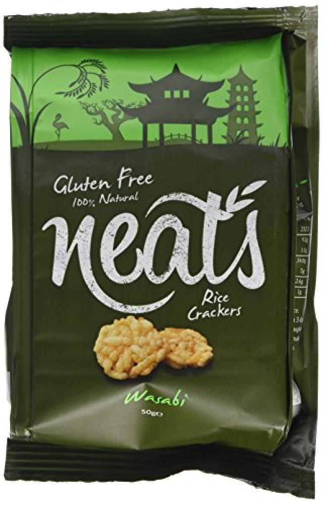 Neats Rice Crackers with Wasabi 50g