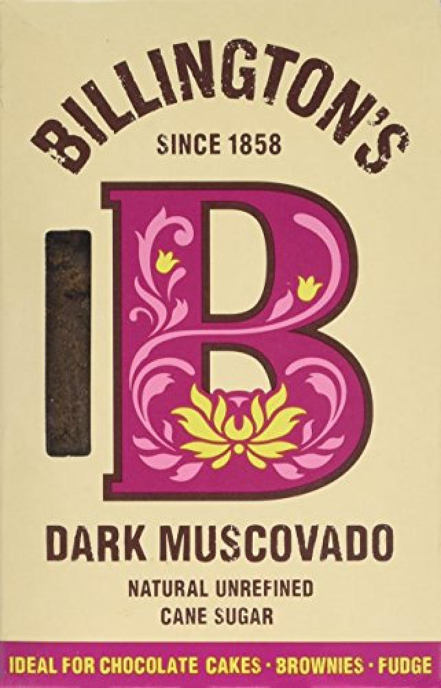 Billingtons Dark Muscovado Sugar 500 g