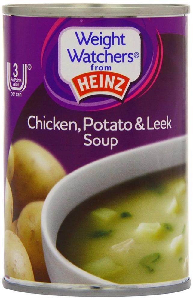 Heinz Weight Watchers Chicken Potato and Leek Soup 295 g