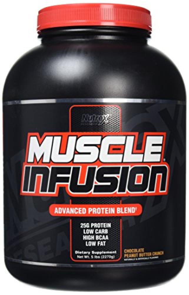 Nutrex Choco Peanut Crunch Muscle Infusion Protein Powder 2.27 kg