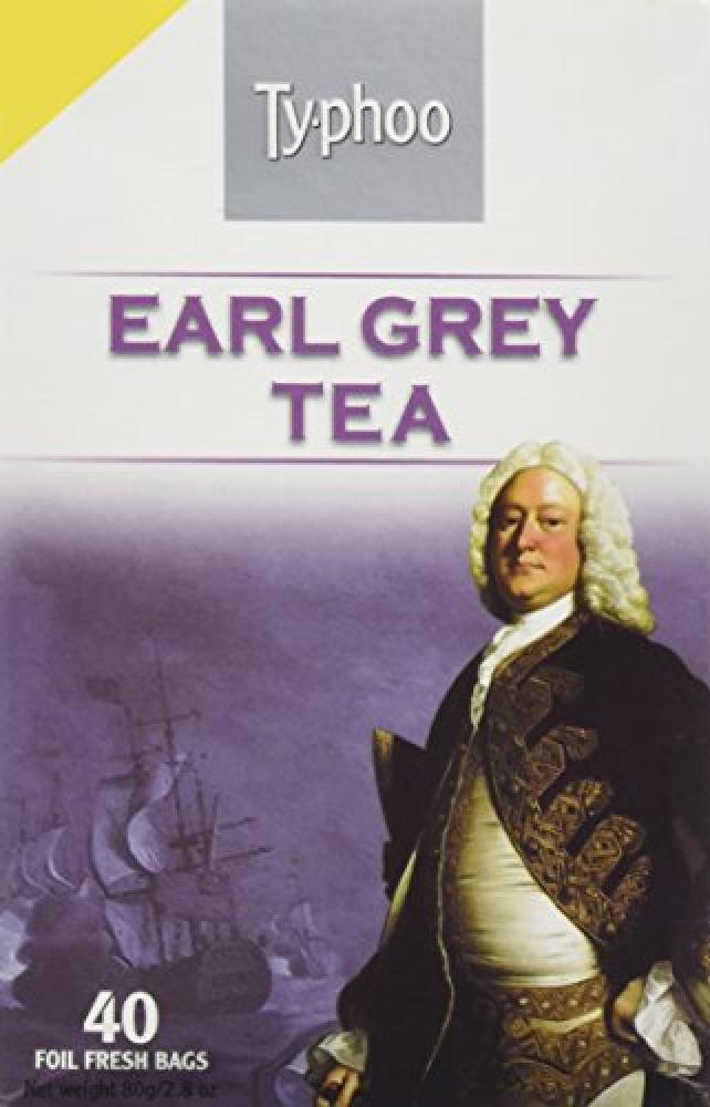 Typhoo Speciality Earl Grey Tea 40 Tea Bags