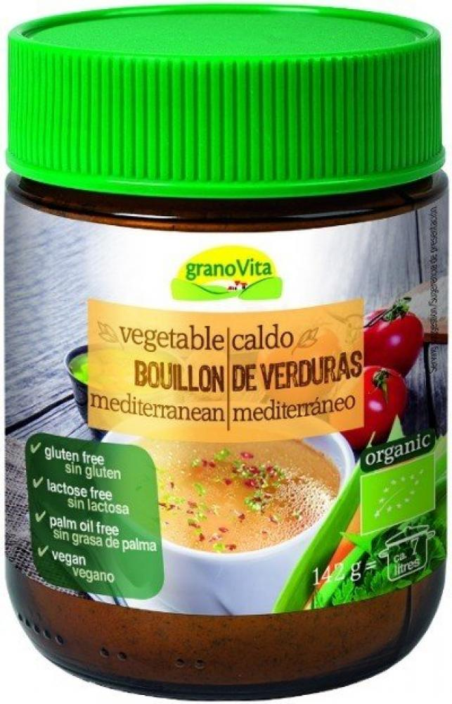 Grano Vita Vegetable Bouillon Mediterranean 142g