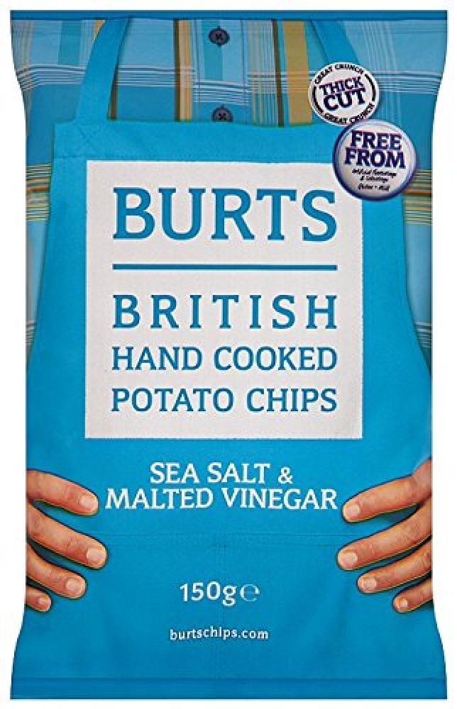 Burts Potato Chips Salt and Vinegar 40 g