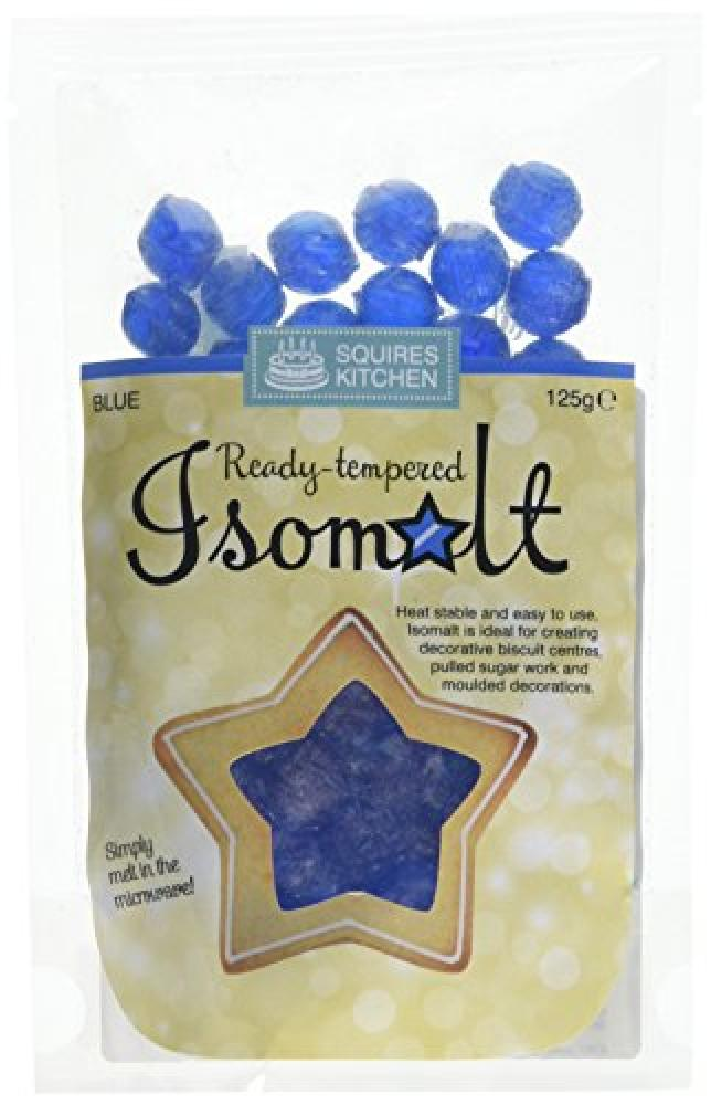 Squires Kitchen Blue Ready Tempered Isomalt 125g
