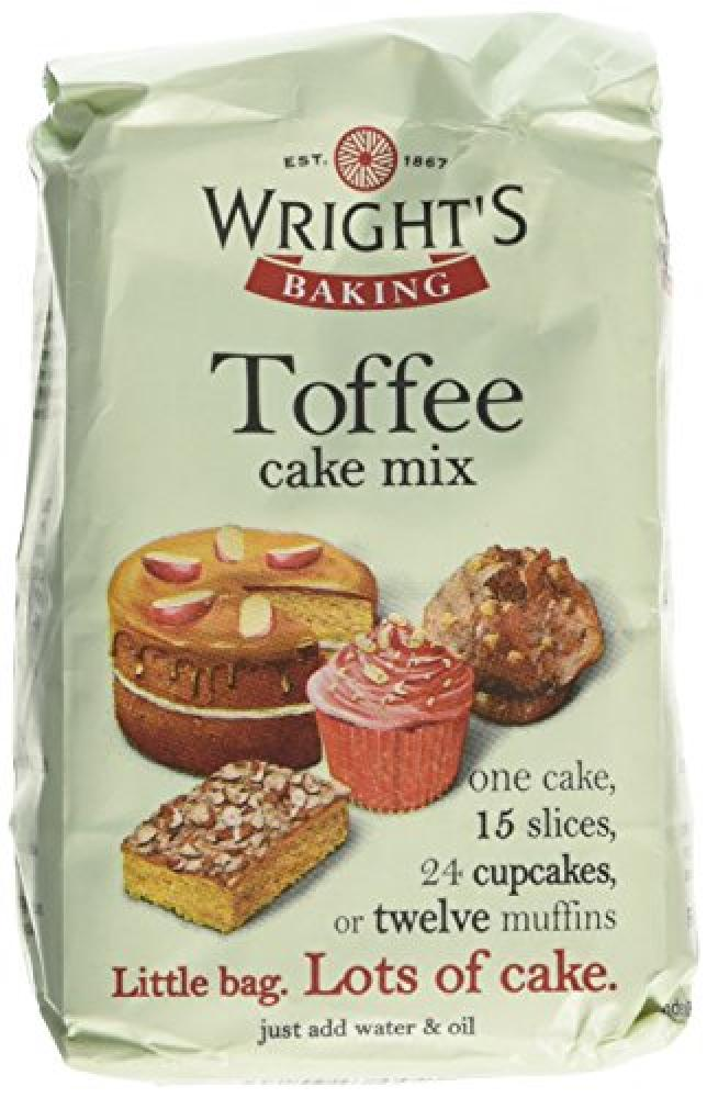 Wrights Baking Toffee Cake Mix 500g