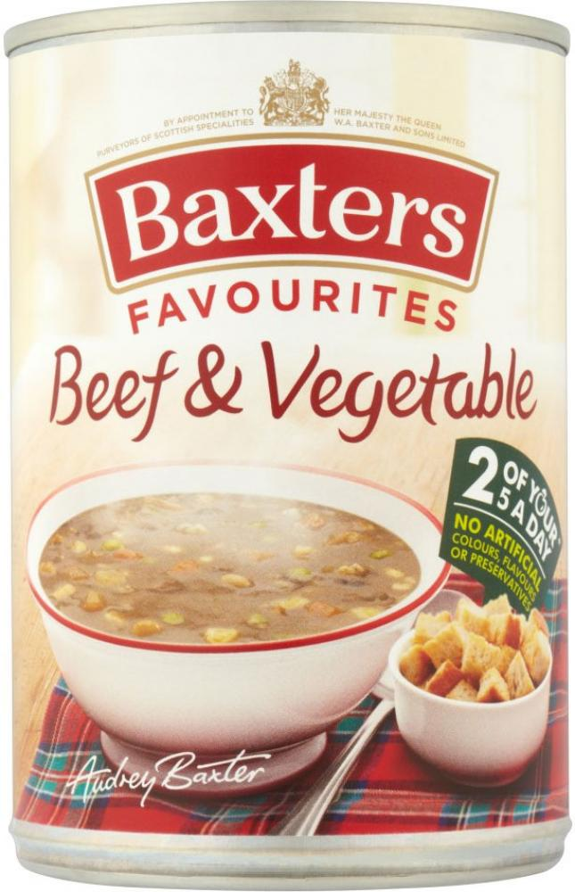 Baxters Beef and Vegetable Soup 400g