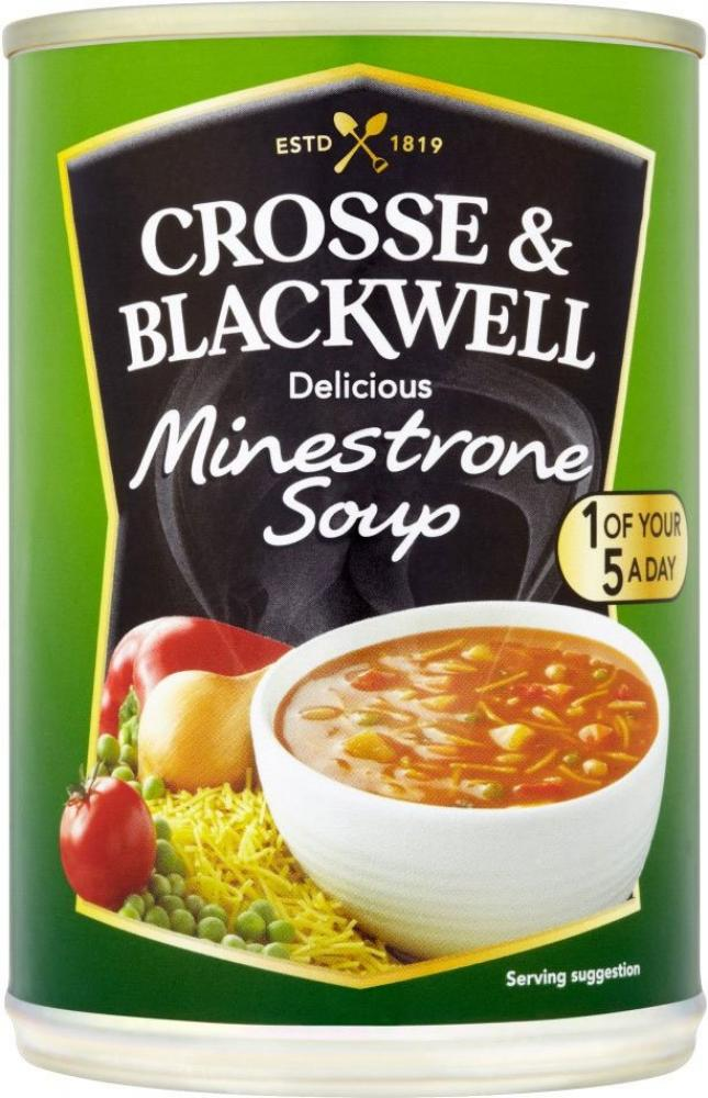 Crosse and Blackwell Minestrone Soup 400g