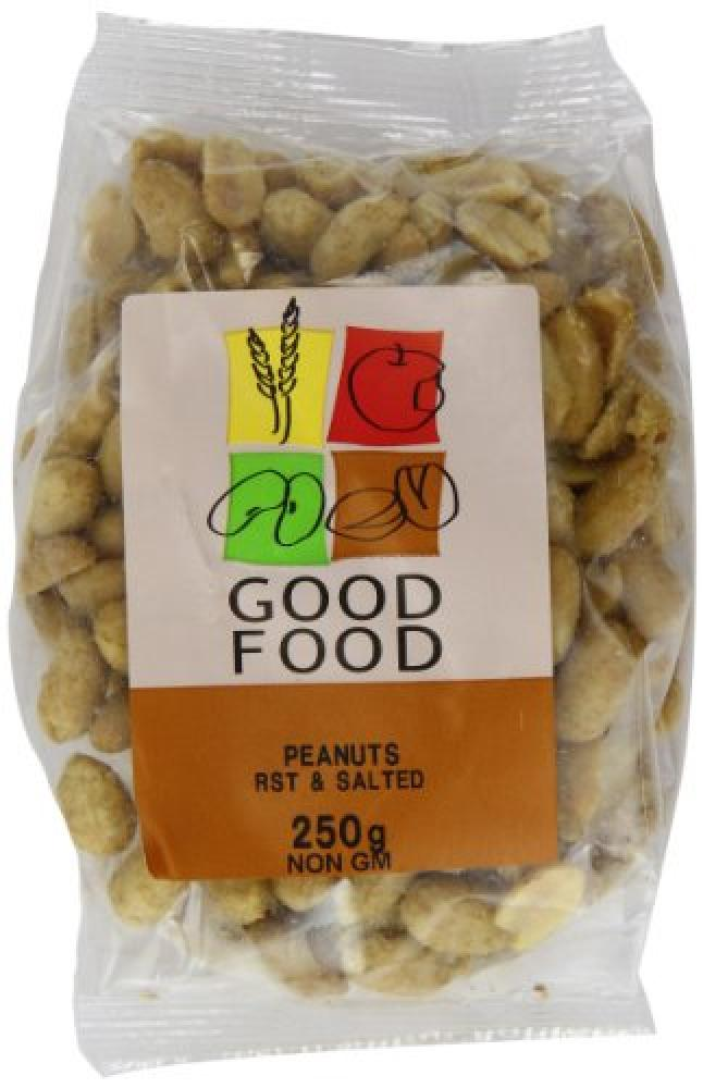 Mintons Good Food Roasted and Salted Peanuts 250g