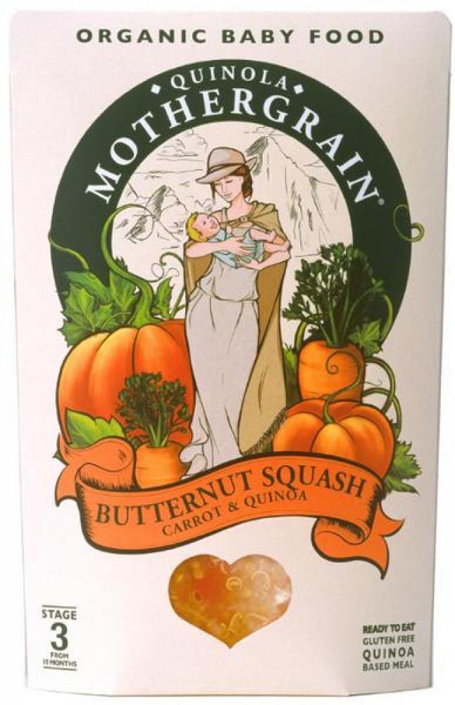 Quinola Mothergrain Baby Butternut Squash 190g