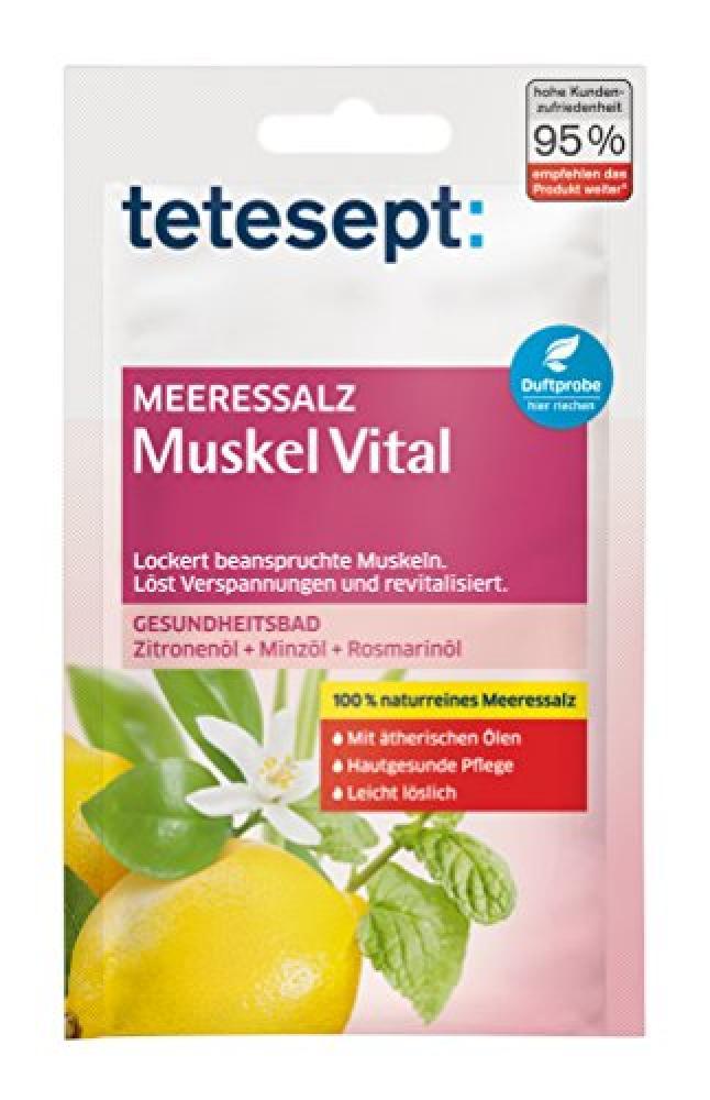 Tetesept Meeressalz Muskel Vital 80g