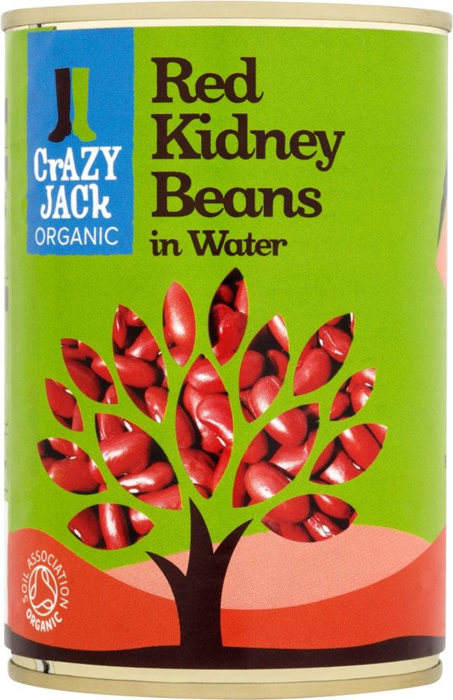Crazy Jack Organic Red Kidney Beans 400g