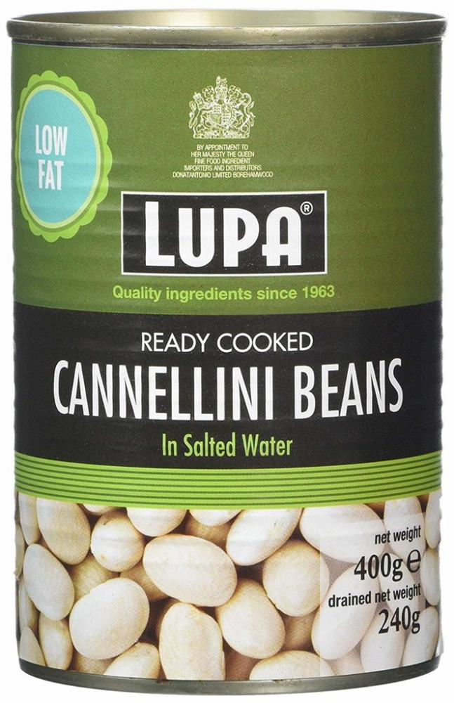 Lupa Ready Cooked Cannellini Beans 400g