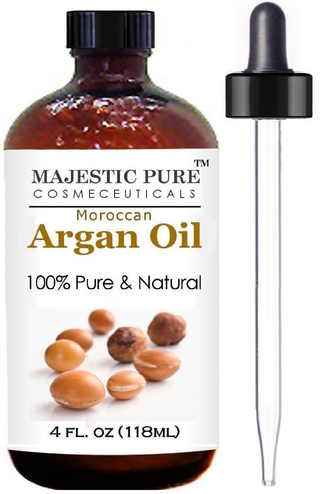 Majestic Pure Natural Moroccan Argan Oil 118ml
