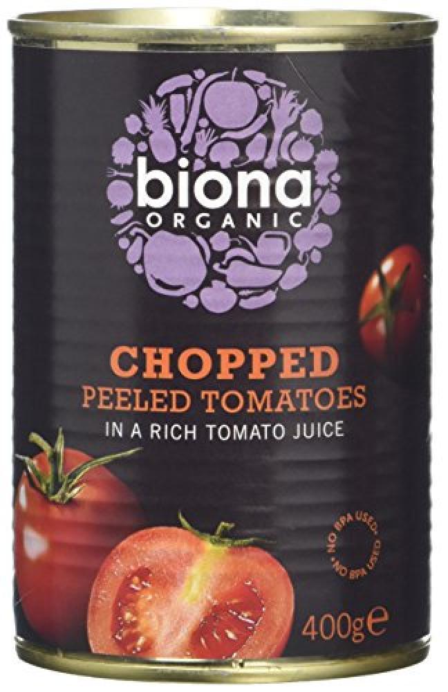 Biona Organic Organic Chopped Tomatoes 400 g
