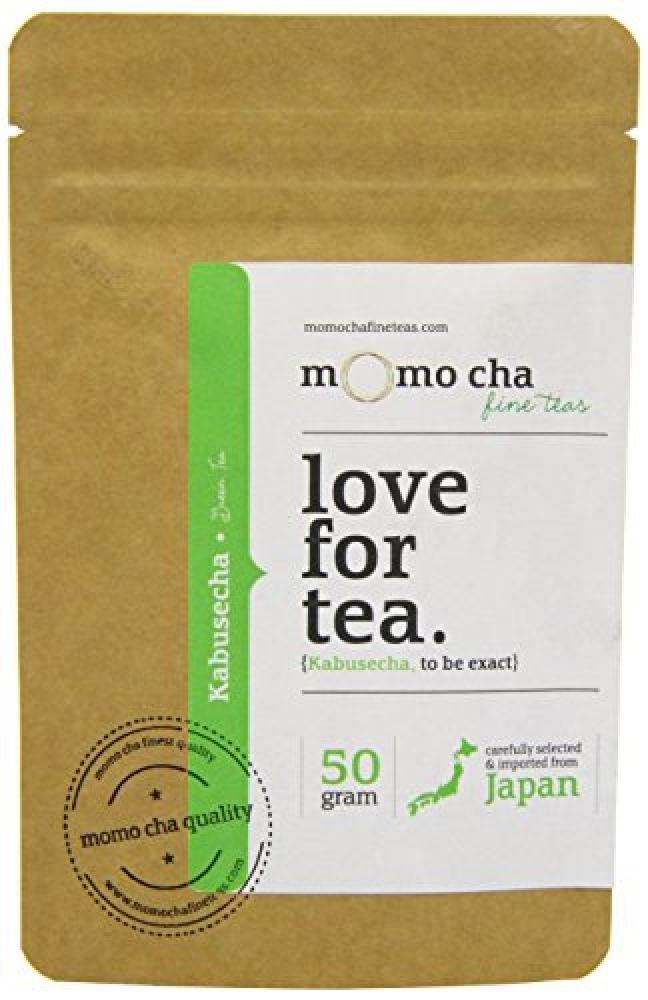Momo Cha Fine Teas Kabusecha Premium Loose Leaf Japanese Green Tea 50 g