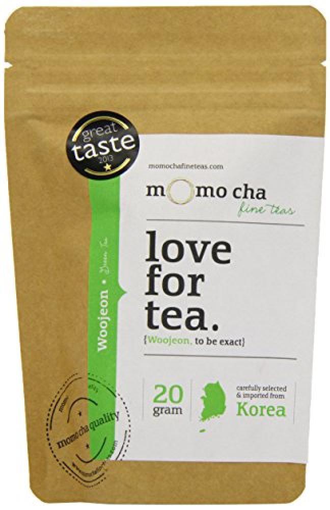 Momo Cha Fine Teas Woojeon Award Winning Premium Loose Leaf Korean Green Tea 20 g