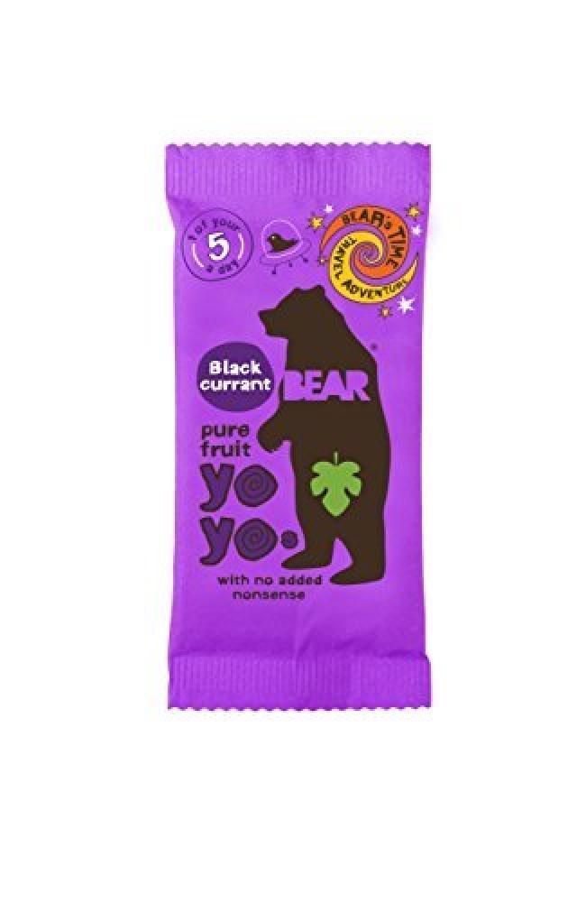 Bear Yoyo Blackcurrant Fruit Rolls 20 g