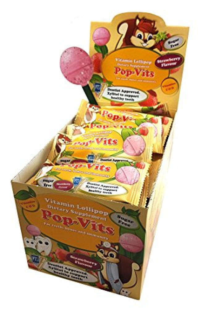 Pop-Vits ulti-vitamin sugar Lollipops