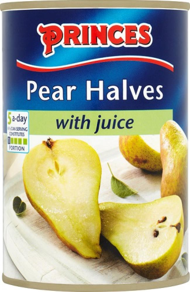 Princes Princes  Princes Pear Halves with juice 410g  410g 410g